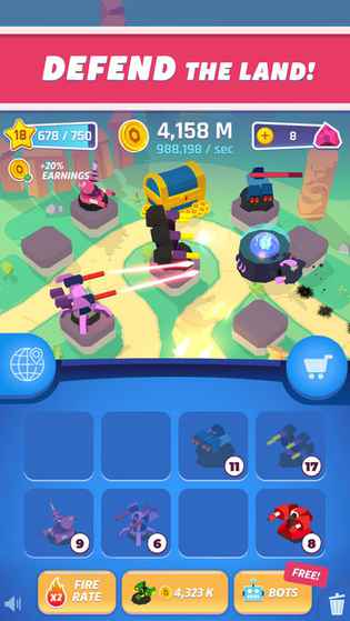 Merge Tower Bots - Android Games in Tap | Tap Discover Superb Games