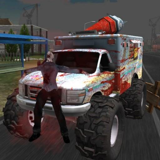 Truck Driving Zombie Road Kill