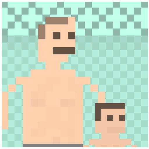 BATH WITH DAD simulator 2015
