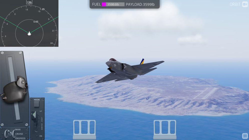 航母降落 - 舰载机模拟飞行