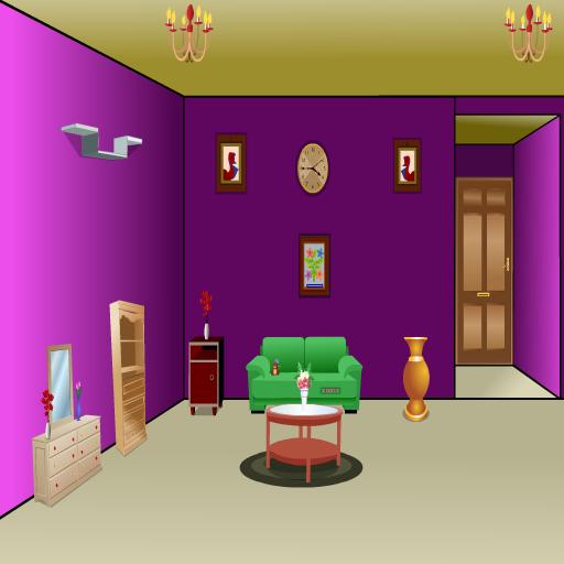 Modern Purple House Escape