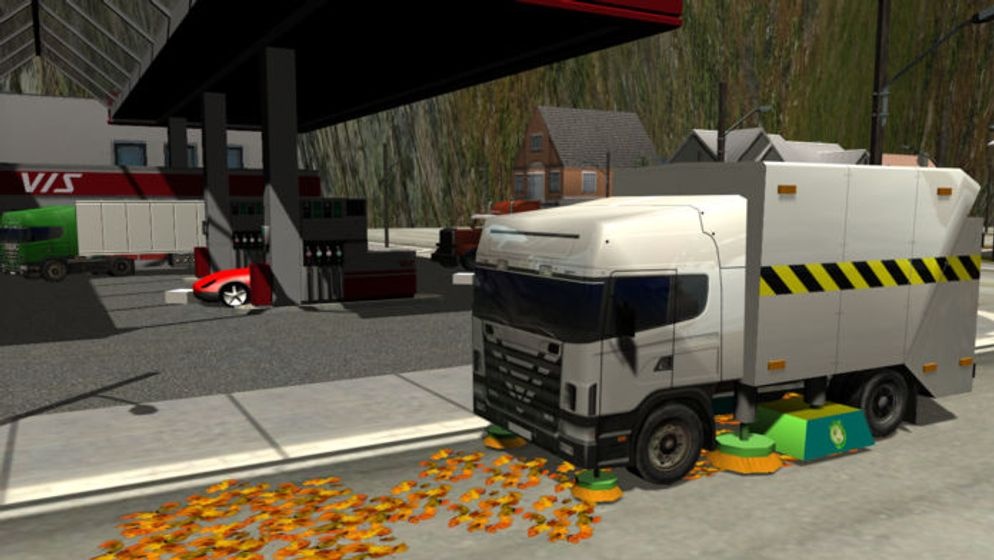 Truck Driver Simulator Grand Scania