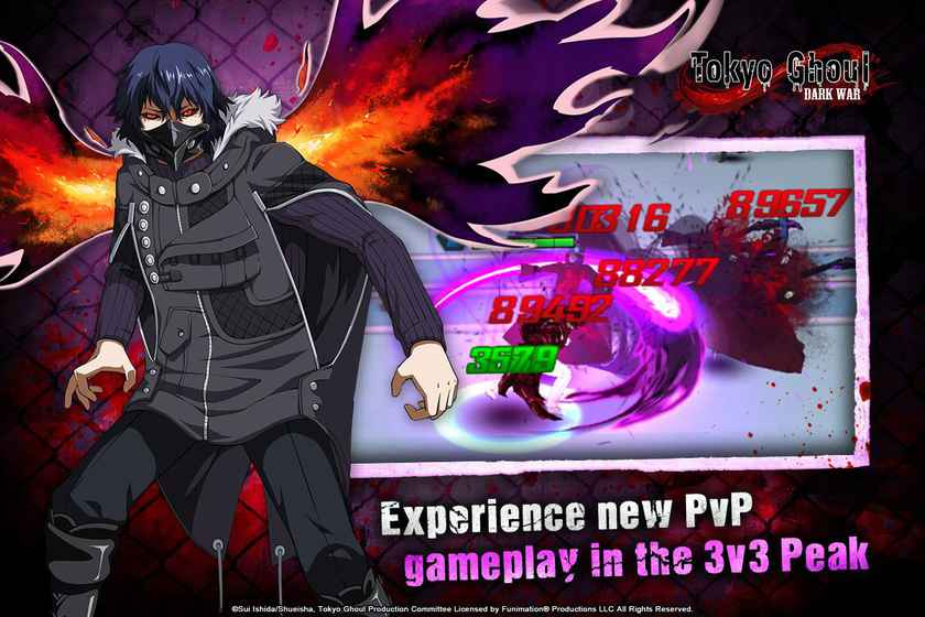 Tokyo Ghoul: Dark War - Android Games in Tap   Tap Discover