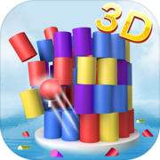 Color Ball 3D - Shoot & Hit Down